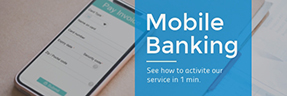 Mobile Banking Email Header Template