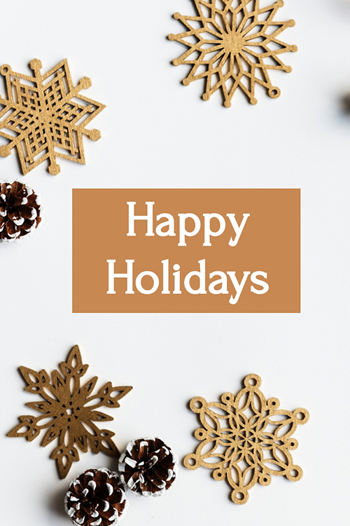 Enjoy Your Christmas Blog Graphic Large Template