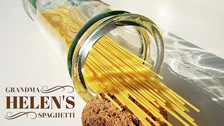 Grandma Helen's Spaghetti Template