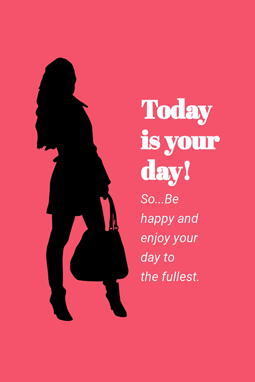 Today is Your Day Blog Graphic Large Template