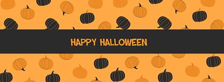 Happy Halloween Facebook Cover Template