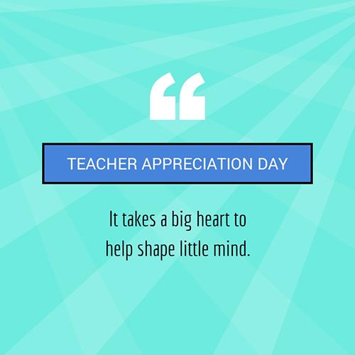 Teacher Appreciation Day Blog Graphic Medium Template