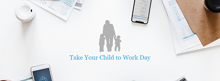 Take Your Child to Work Day Facebook Cover Template