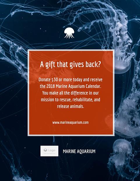 Marine Aquarium - Flyer Template