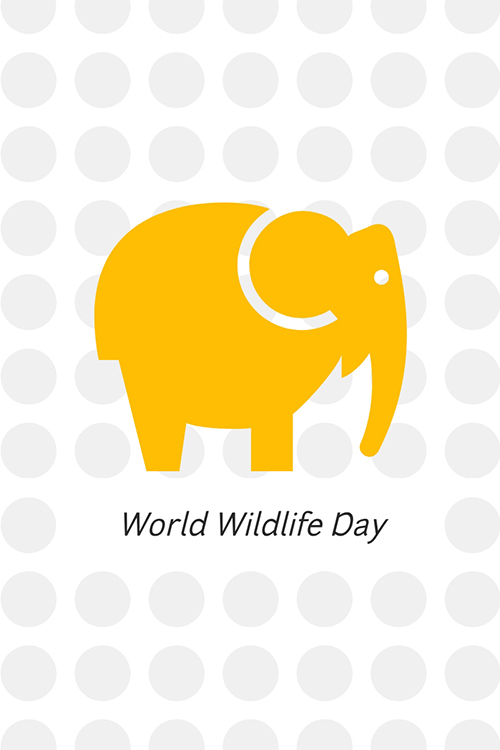 World Wildlife Day Blog Graphic Large Template
