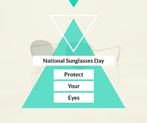 National Sunglasses Day Facebook Post Template