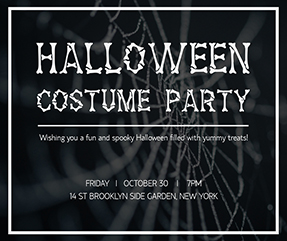 Spooky Halloween - Facebook Post Template