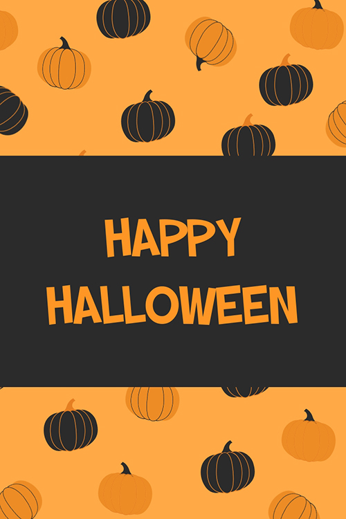 Happy Halloween Blog Graphic Large Template