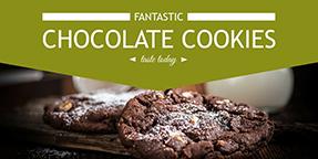 Chocolate Cookies Template