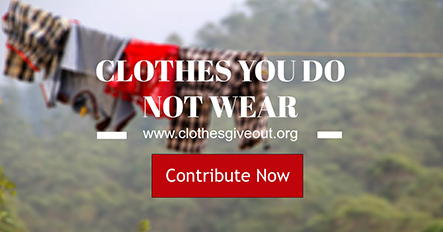 Clothes Donation Template