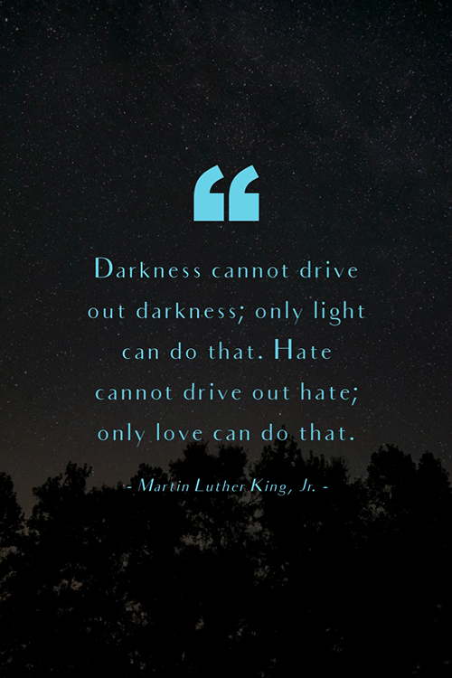 Martin Luther King, Jr Quote Blog Graphic Large Template