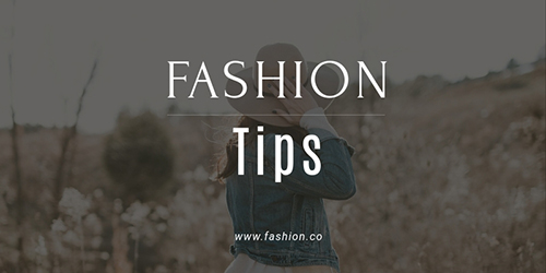 Fashion Tips Template