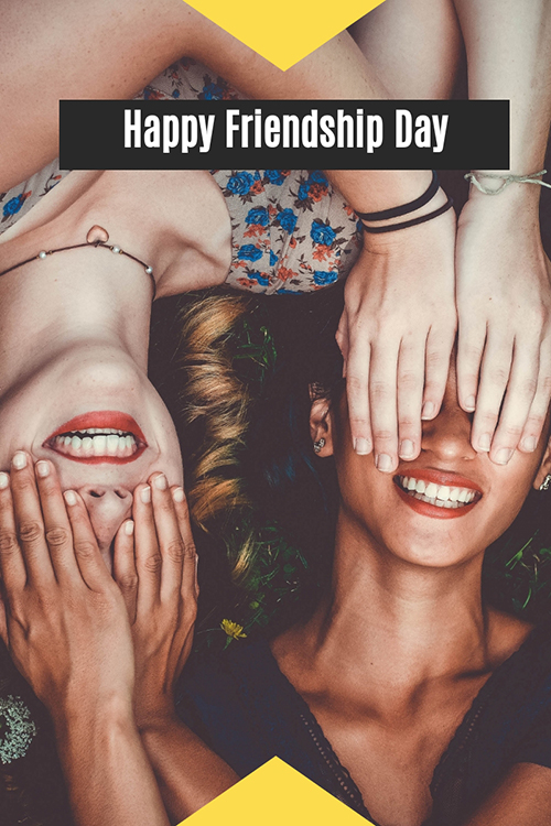 Happy Friendship Day Blog Graphic Large Template