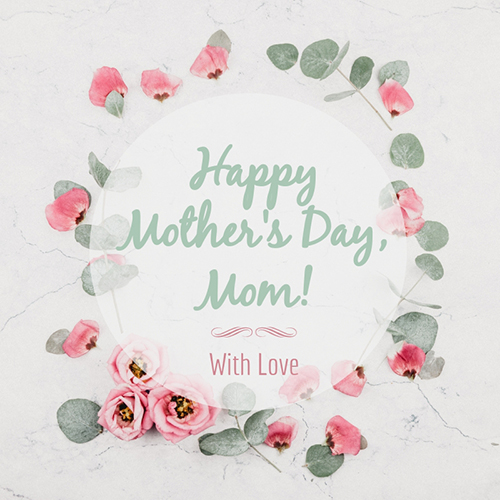 Happy Mother's Day Blog Graphic Medium Template