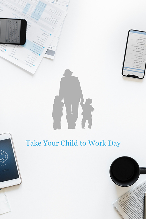 Take Your Child to Work Day Blog Graphic Large Template