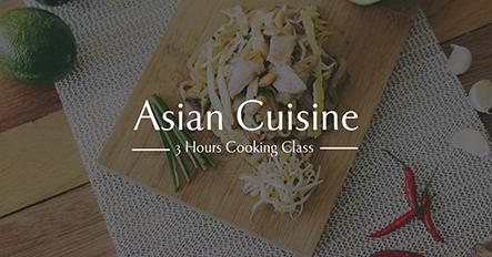 Asian Cuisine - Facebook Ad Template