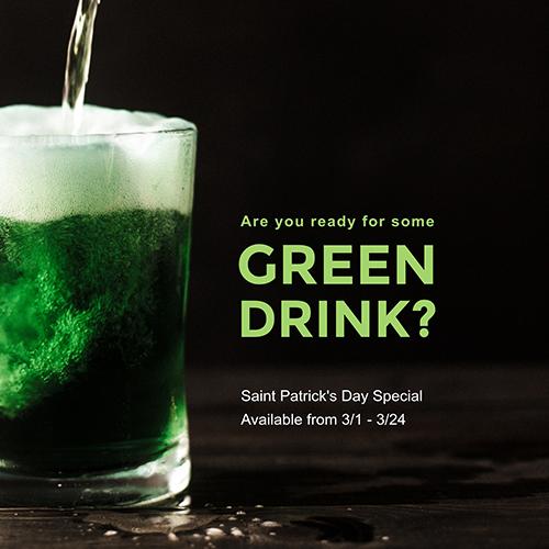 Green Drink Template