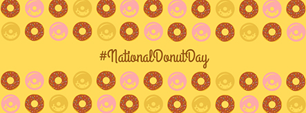 National Donut Day Facebook Cover Template