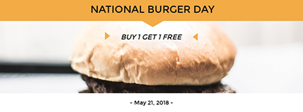 National Burger Day Facebook Cover Template