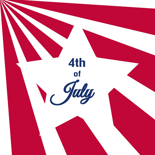 4th of July Blog Graphic Medium Template