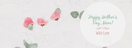 Happy Mother's Day Facebook Cover Template