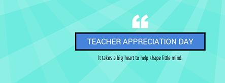Teacher Appreciation Day Facebook Cover Template