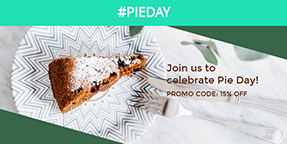 Pie Day Twitter Post Template