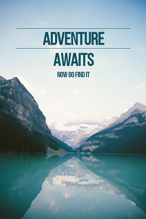 Adventure Awaits Template