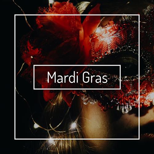 Mardi Gras Blog Graphic Medium Template