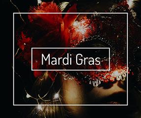 Mardi Gras Facebook Post Template