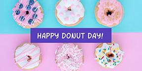 Happy Doughnut Day Twitter Post Template
