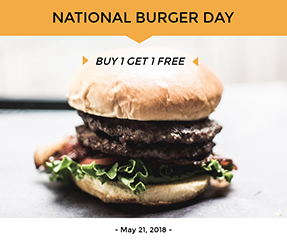 National Burger Day Facebook Post Template