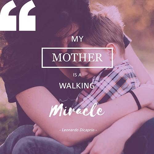 Mom's Love Quote Template