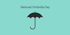National Umbrella Day Twitter Post Template