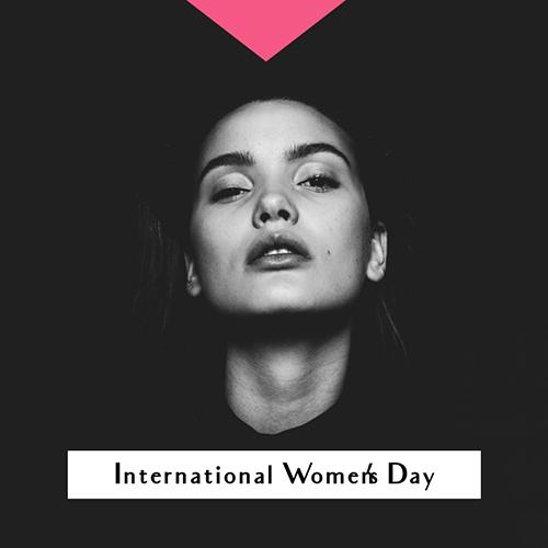 International Women's Day W Blog Graphic Medium Template