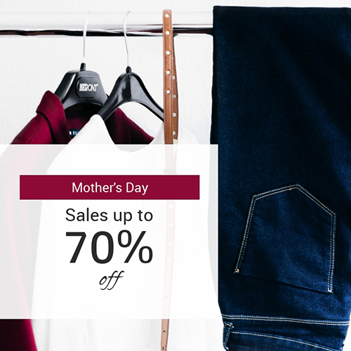 Mother's Day Sale Blog Graphic Medium Template