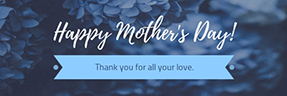 Happy Mother's Day Email Header Template
