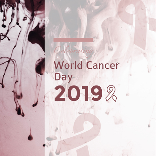 Celebrating World Cancer Day Blog Graphic Medium Template