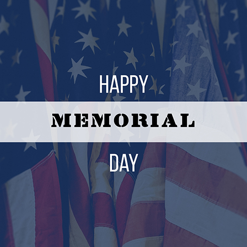 Happy Memorial Day Template