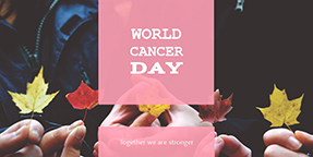 World Cancer Day Twitter Post Template