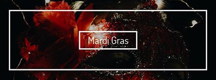 Mardi Gras Facebook Cover Template