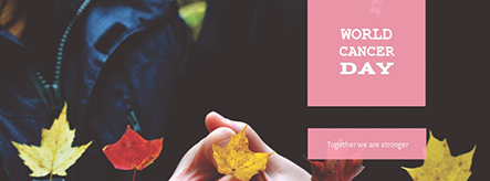 World Cancer Day Facebook Cover Template