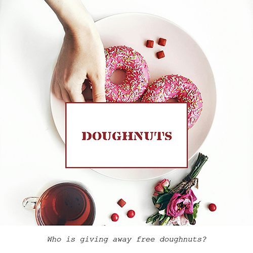 Doughnuts Template