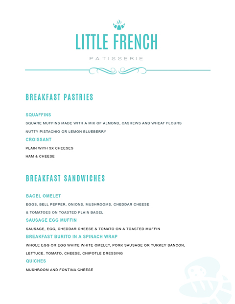 Little French Patisserie Template
