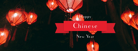 Happy Chinese New Year Facebook Cover Template