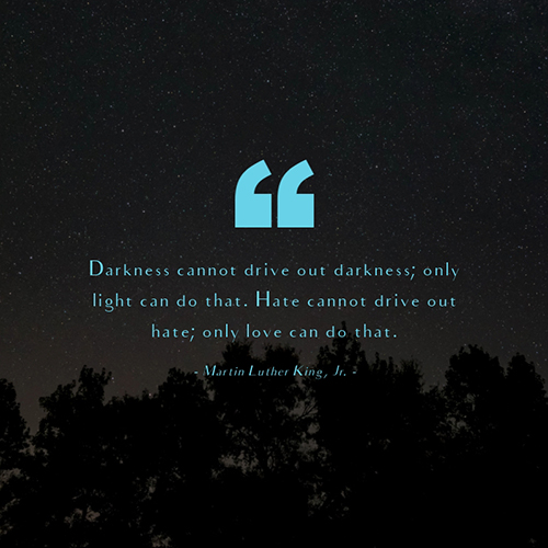 Martin Luther King, Jr Quote Blog Graphic Medium Template