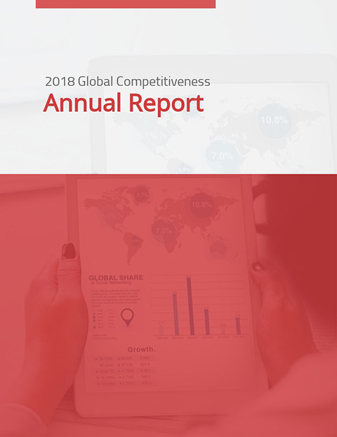 2018 Global Competitiveness Annual Report  Template