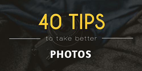 Tips for Better Photos Template