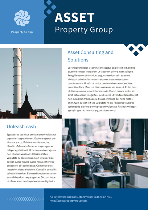 Asset Property Group - Newsletter Template