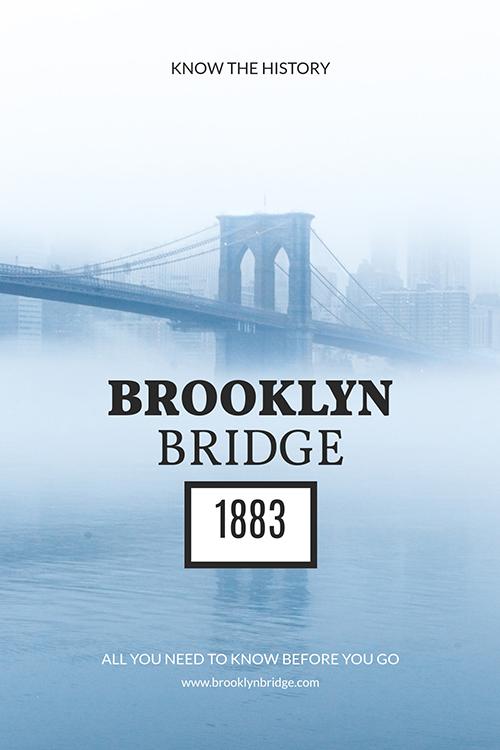 Brooklyn Bridge Template